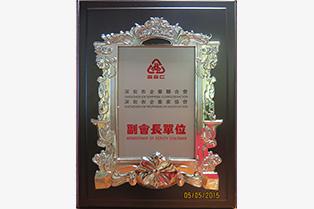 2015深圳市企业联合会副会长单位