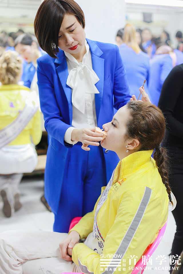 不输维密!首脑学院助力第29届世界模特小姐大赛,让交流更魅力!
