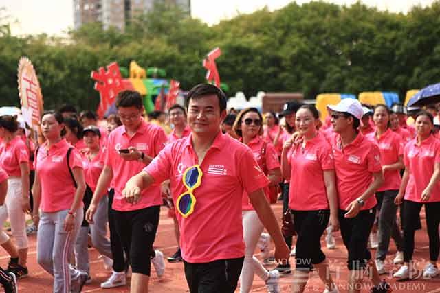 首脑学院2017夏季趣味运动会 激情与活力的绽放!