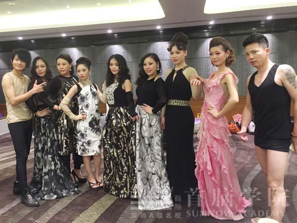 深圳最好的化妆培训学校 首脑学校