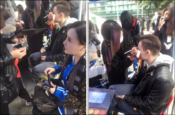 首脑学院化妆造型团队助力深圳卫视娱乐频道《健身总动员》
