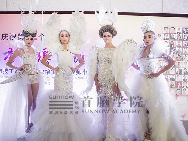 首脑学院创意新娘造型秀