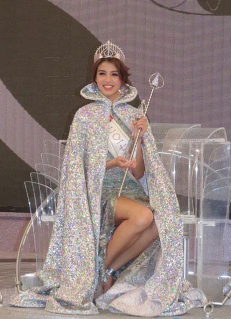 2017香港小姐冠军雷庄儿