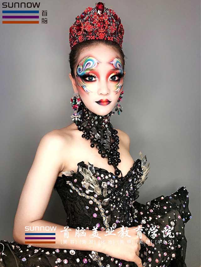 化妆作品图
