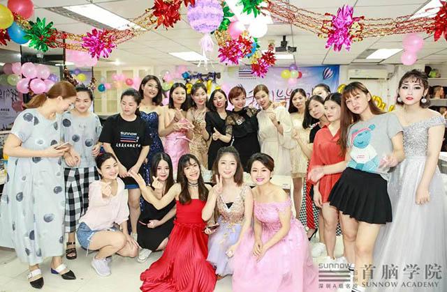 美容学校创业学员黄馨