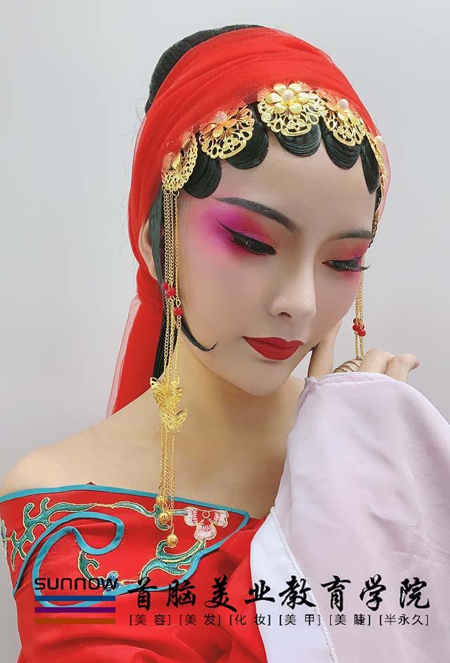 化妆学校化妆作品图