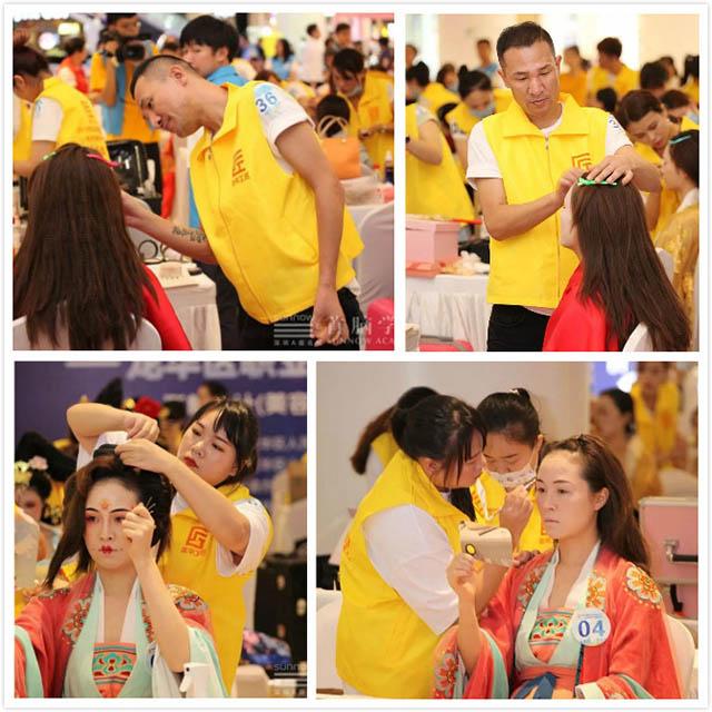 美容学校化妆选手